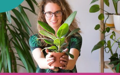 Odcinek 11. O projektowaniu zieleni we wnętrzach- zawód przyszłości czy chwilowa moda?- wywiad z Kamillą Kocjan (PLANTA VERDE).